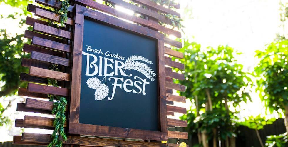 Festival Bier Fest no parque Busch Gardens