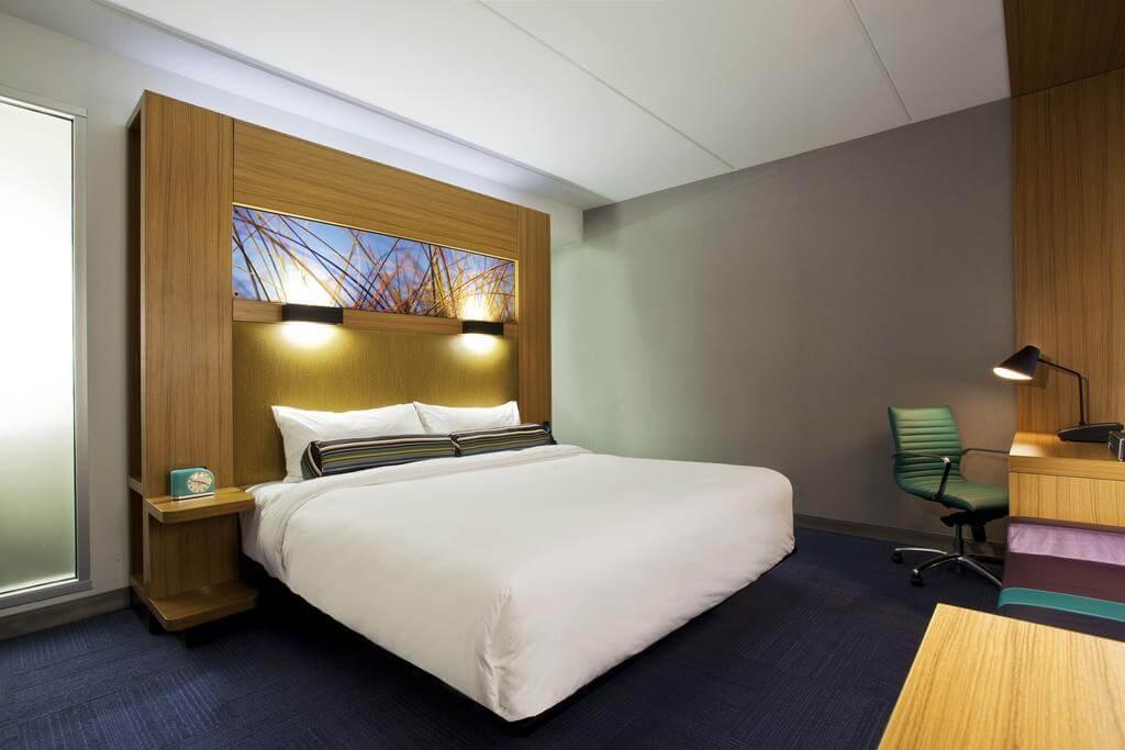 Melhores hotéis em Jacksonville: Hotel Aloft - quarto