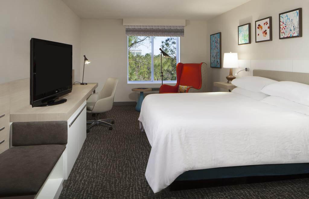 Melhores hotéis em Jacksonville: Hotel Hilton Garden Inn - quarto