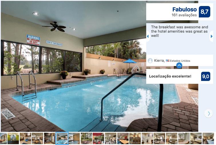 Dicas de hotéis em Jacksonville: Hotel Holiday Inn Express & Suites