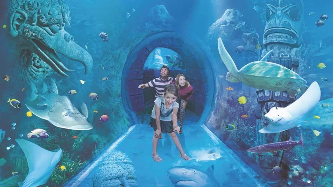 Complexo ICON Orlando 360 em Orlando: Aquário Sea Life