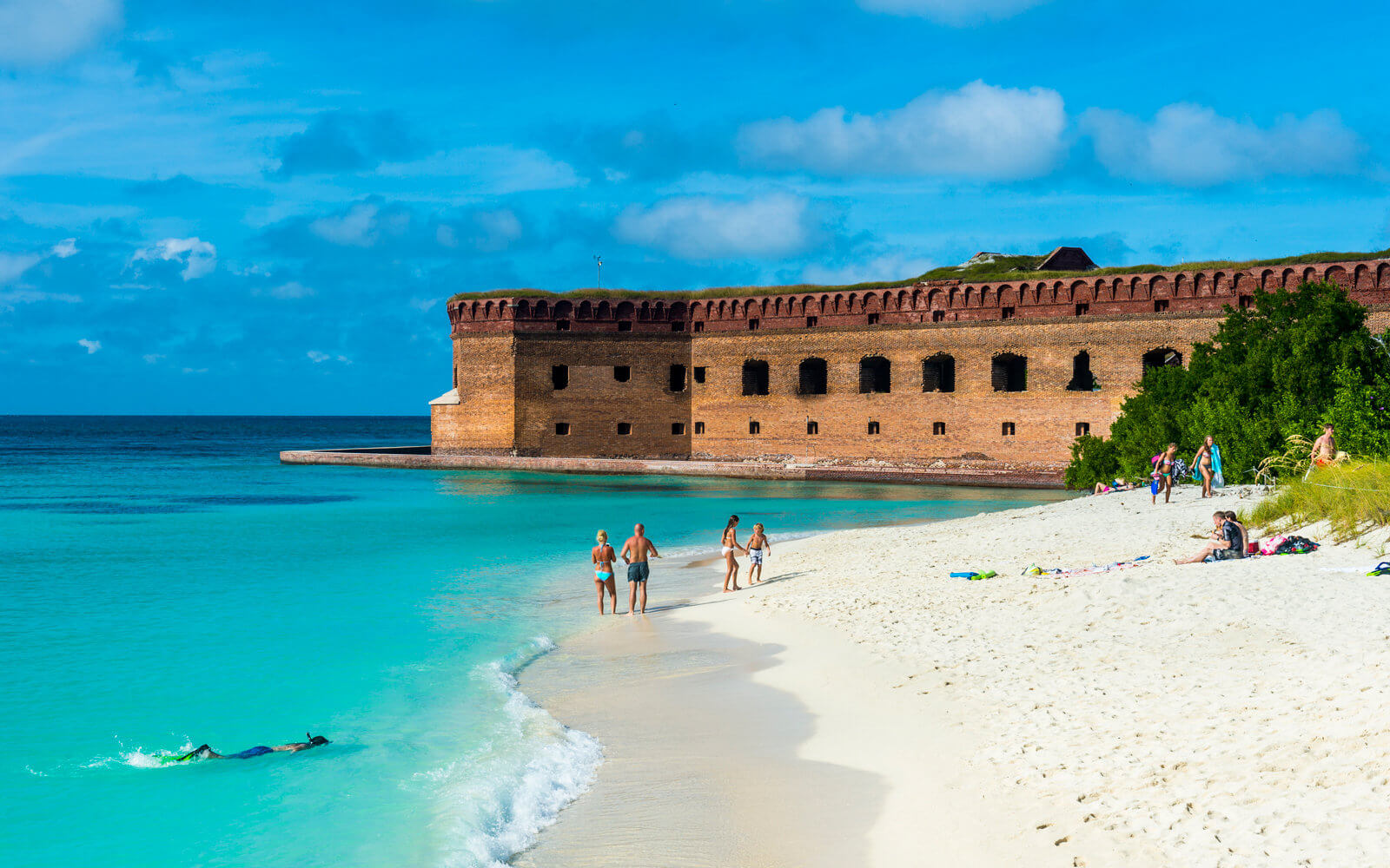Pontos turísticos em Key West: Dry Tortugas National Park - Fort Jefferson
