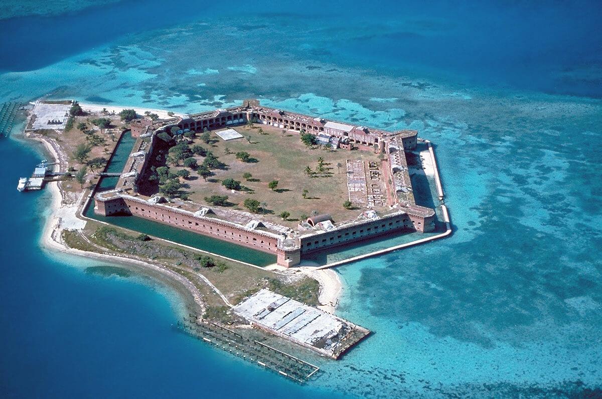 Pontos turísticos em Key West: Dry Tortugas National Park