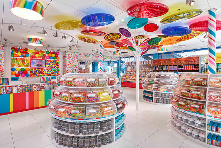 Onde comprar doces em Orlando: Dylan's Candy Bar