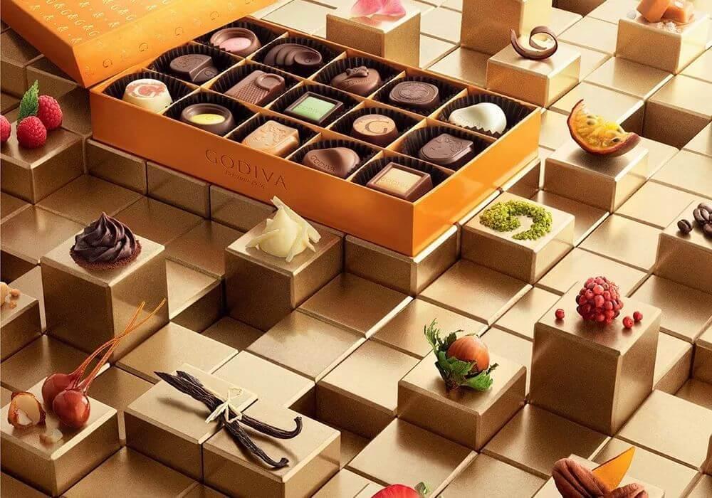 Onde comprar doces em Orlando: Godiva Chocolatier