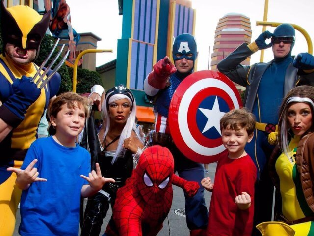 Jantar com super-heróis da Marvel na Universal Orlando: Marvel Character Dinner