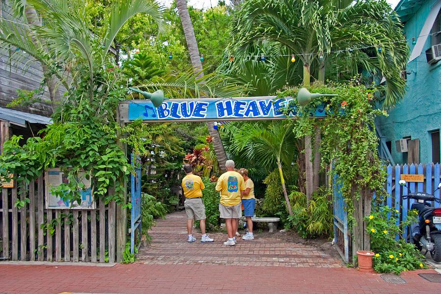 Restaurantes em Key West: restaurante Blue Heaven