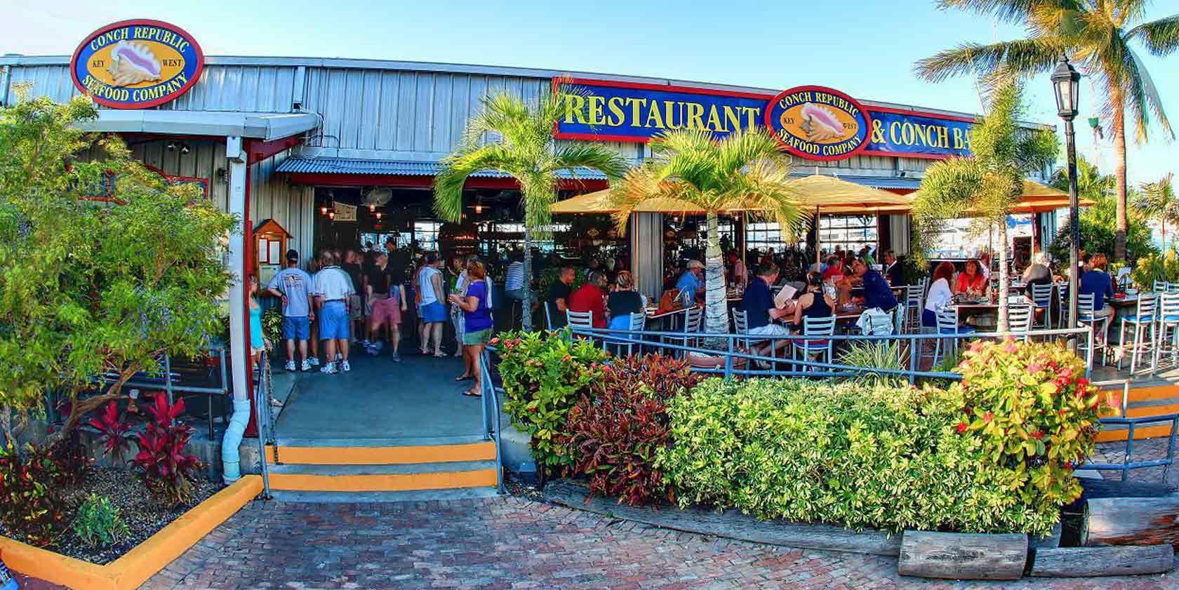 Restaurantes em Key West: restaurante Conch Republic Seafood