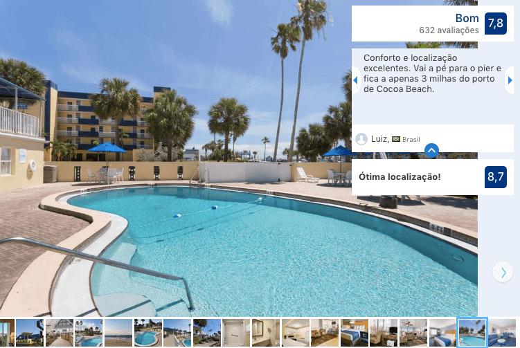 Dicas de hotéis em Cocoa Beach: Hotel Days Inn by Wyndham