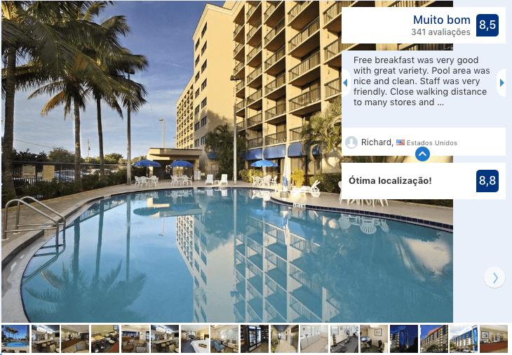 Melhores hotéis em Cocoa Beach: Hotel Hampton Inn