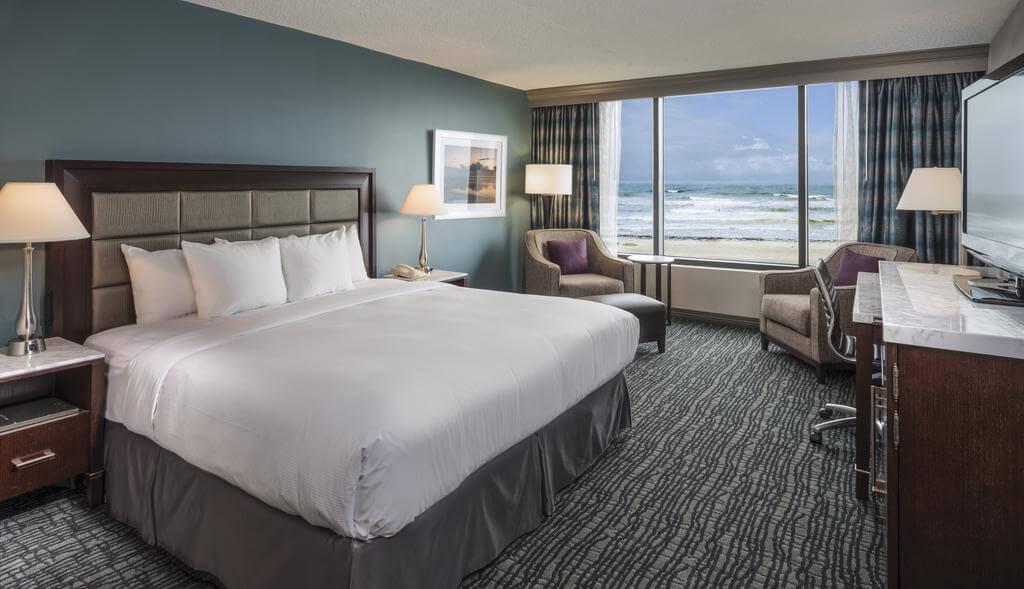 Melhores hotéis em Cocoa Beach: Hotel Hilton - quarto