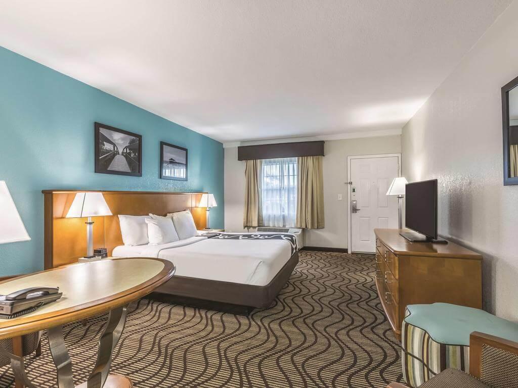 Dicas de hotéis em Cocoa Beach: Hotel La Quinta Inn - quarto