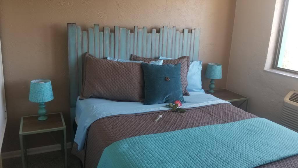 Dicas de hotéis em Cocoa Beach: Hotel South Beach Inn - quarto