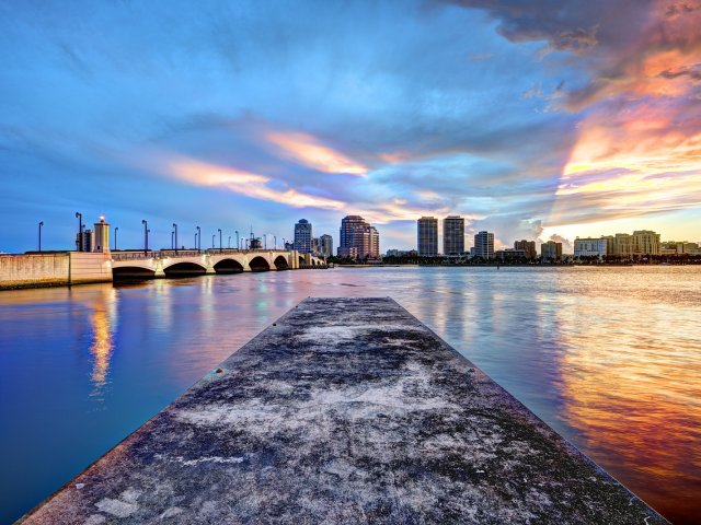 Pontos turísticos em Palm Beach