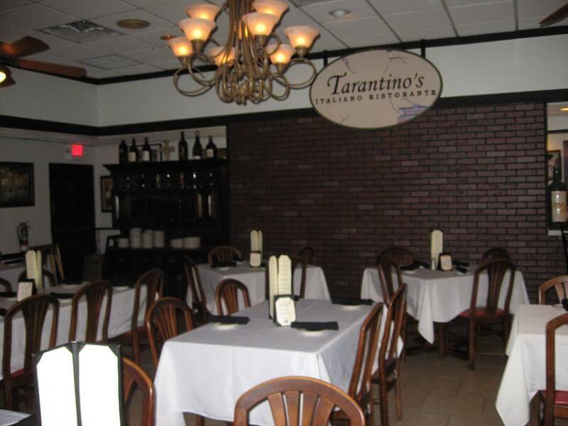 Restaurantes em Kissimmee: restaurante Tarantino's Italian