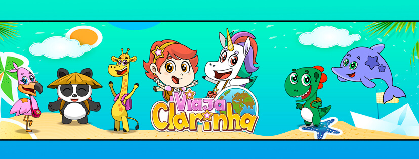 Viaja Clarinha - Desenho Infantil - Personagens