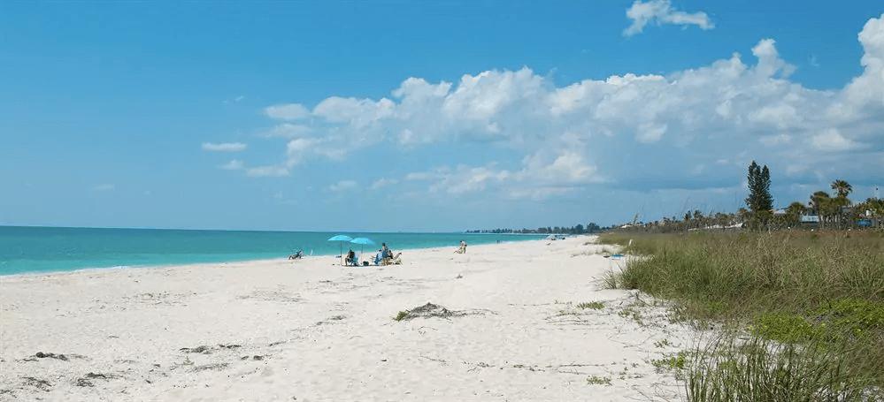 Praias em Sarasota: praia Casey Key Beach