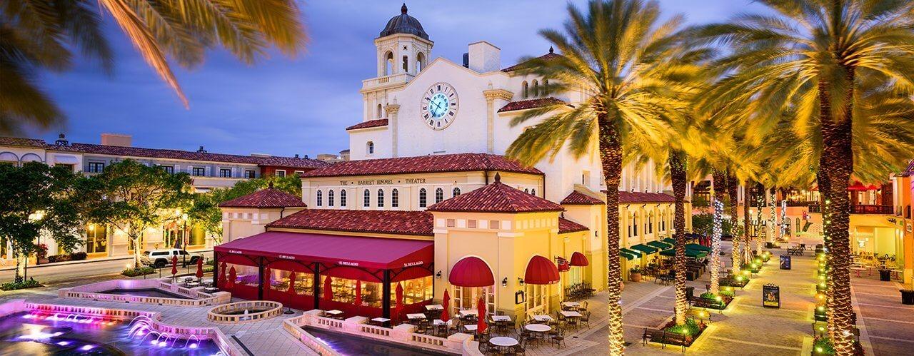 Compras em Palm Beach: CityPlace em West Palm Beach