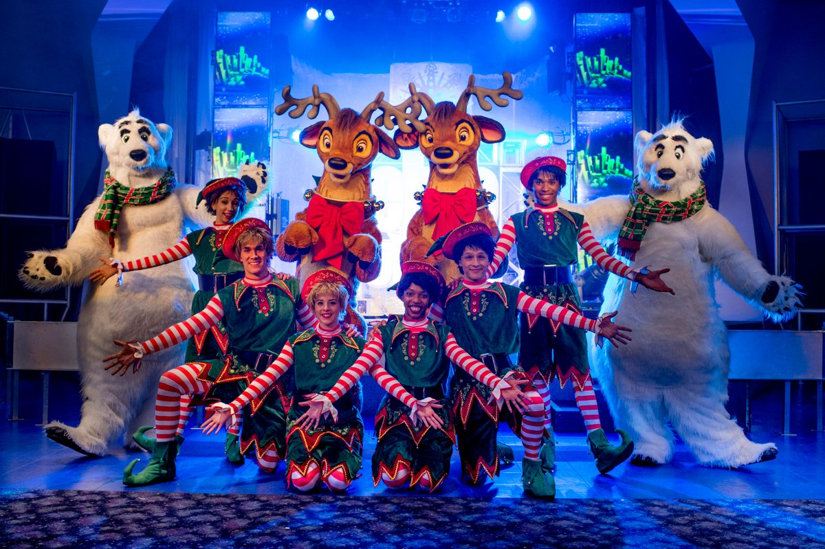 Mickey's Very Merry Christmas Party no Disney Magic Kingdom: Club Tinsel