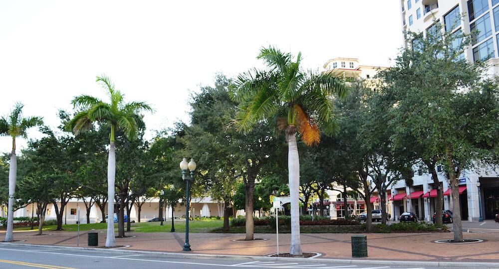 Pontos turísticos em Sarasota: Five Points Park