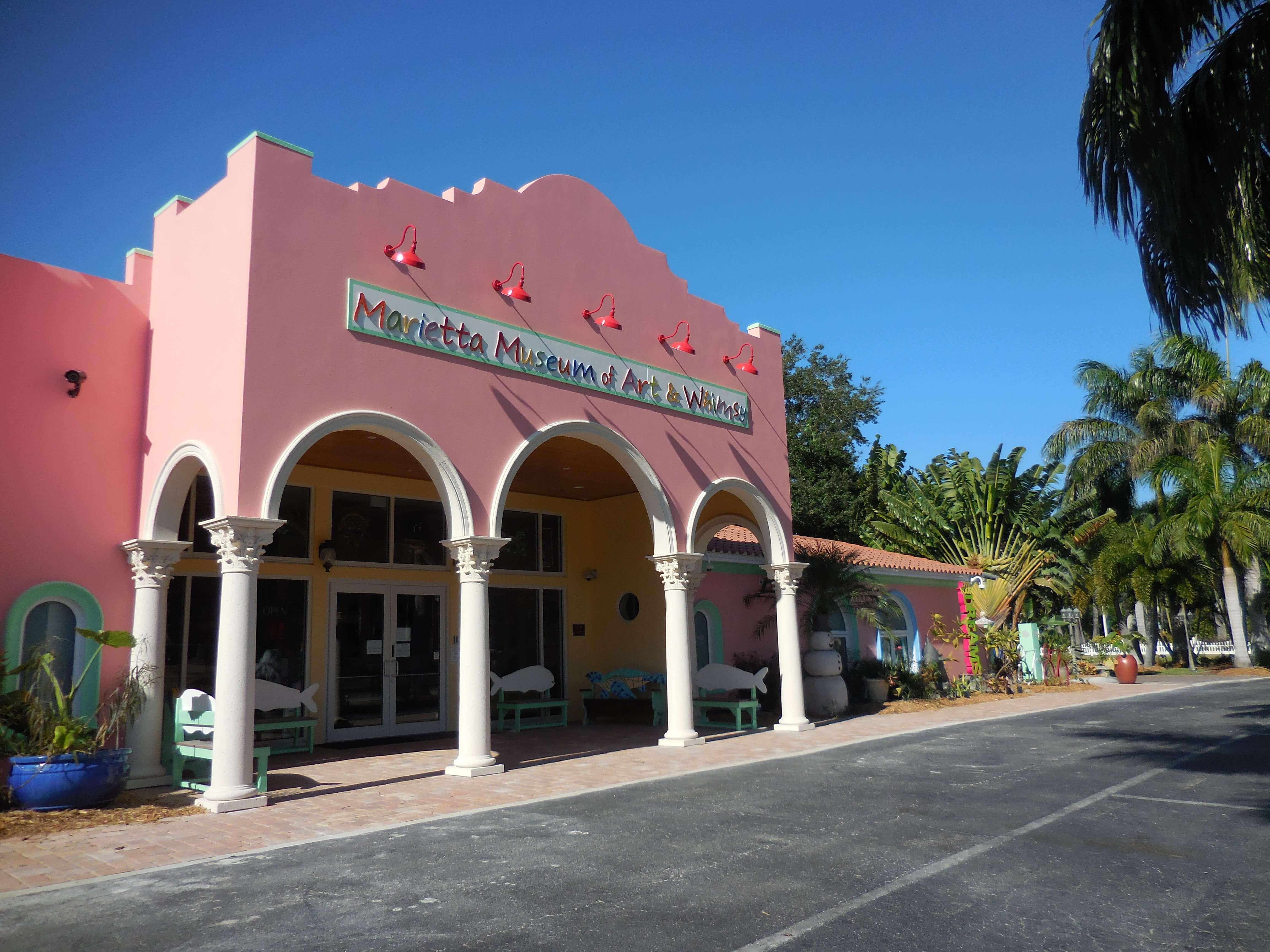 Pontos turísticos em Sarasota: Marietta Museum of Art & Whimsy