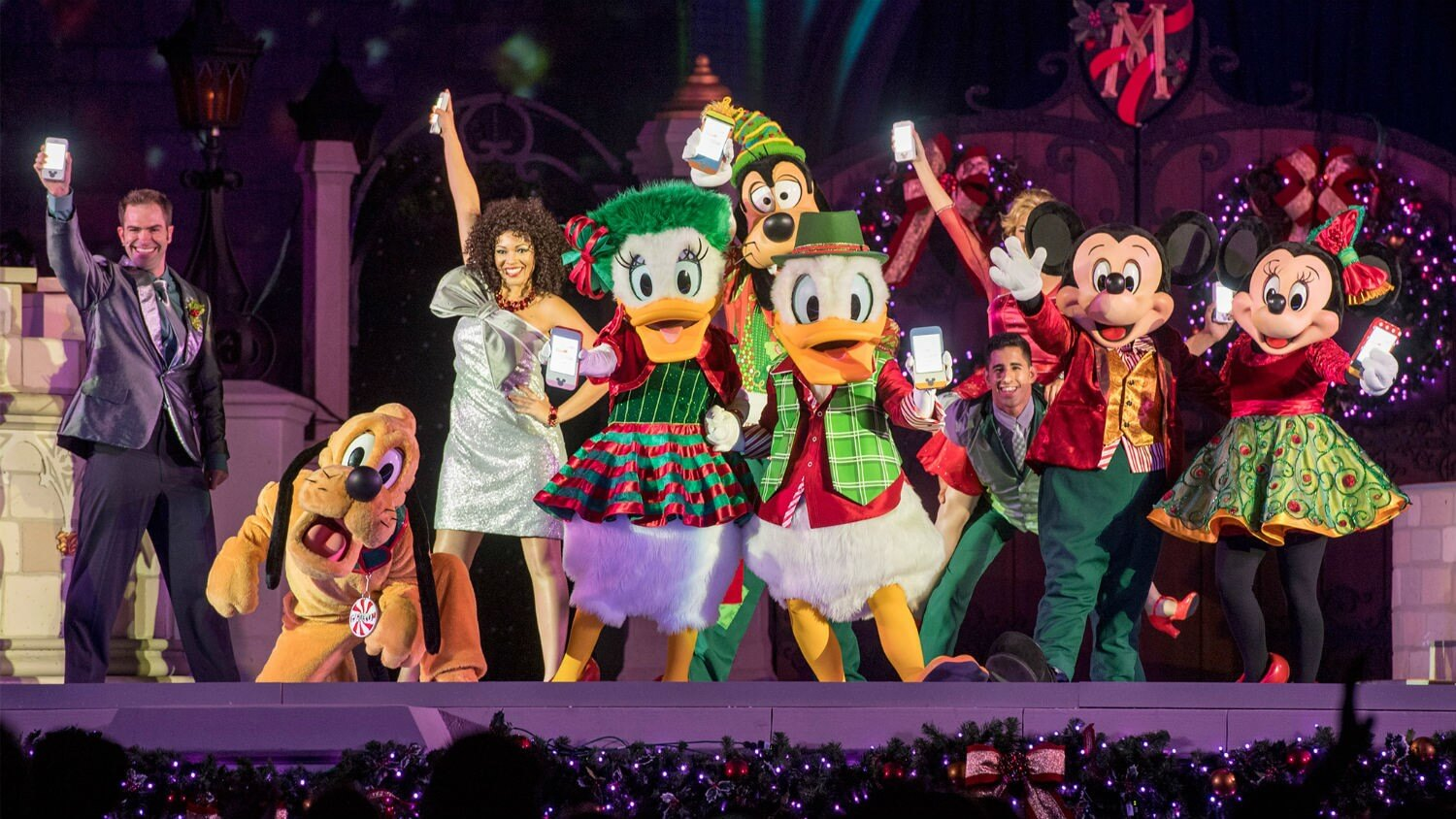 Mickey's Very Merry Christmas Party no Disney Magic Kingdom: Mickey's Most Merriest Celebration