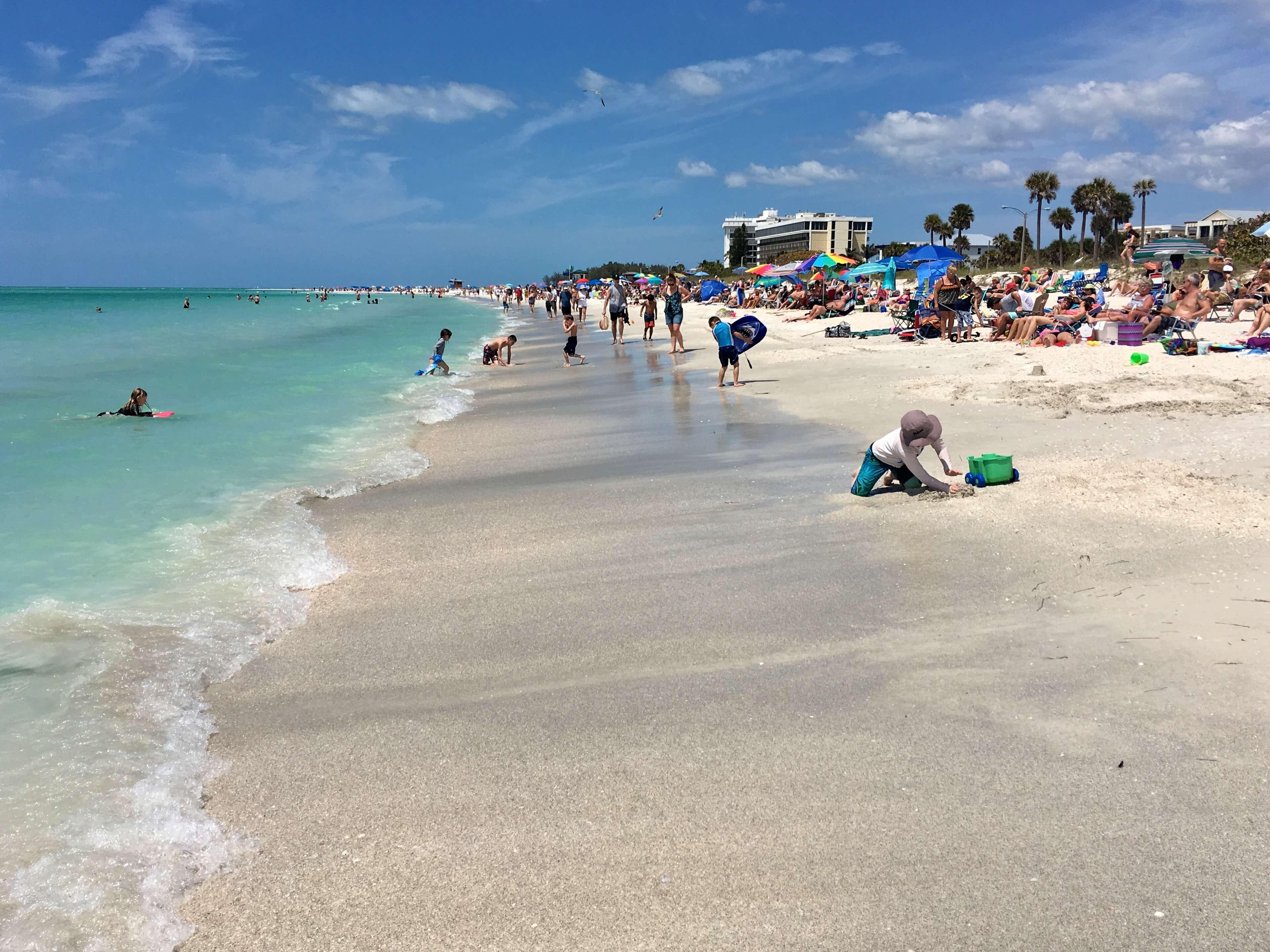 O que fazer em Sarasota: praia Lido Key Beach