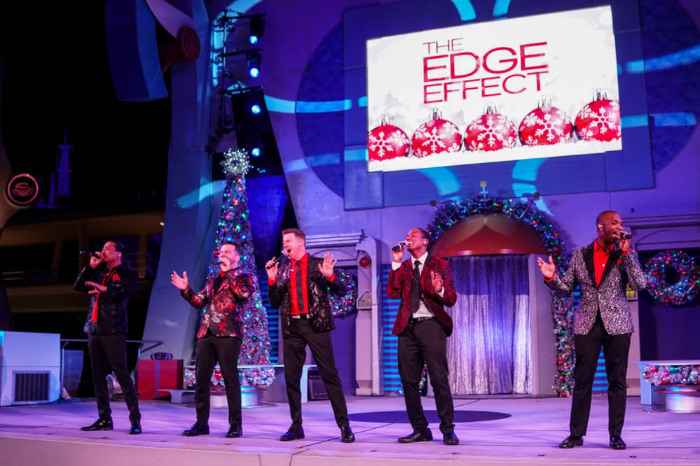 Mickey's Very Merry Christmas Party no Disney Magic Kingdom: The Edge Effect