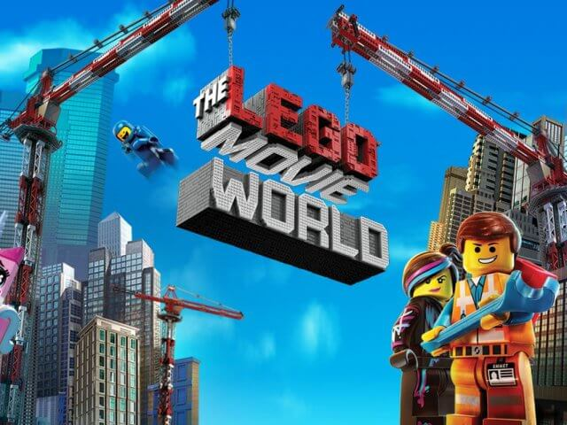 The Lego Movie World na LEGOLAND em Orlando