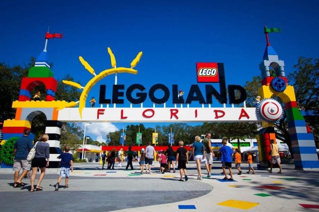 The Lego Movie World na LEGOLAND em Orlando: LEGOLAND Florida