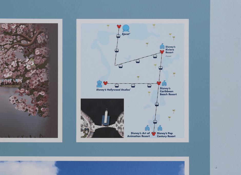 Disney Skyliner: o novo meio de transporte da Disney Orlando: estações
