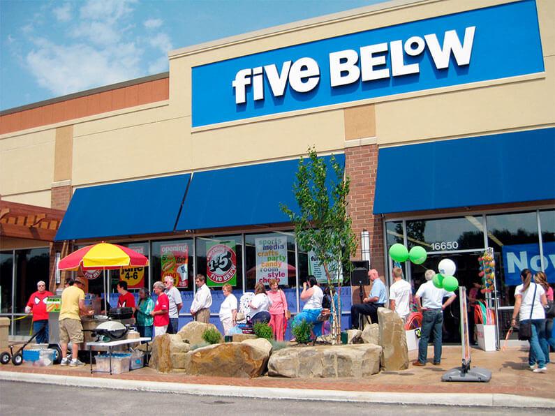 Lojas imperdíveis em Orlando: loja Five Below