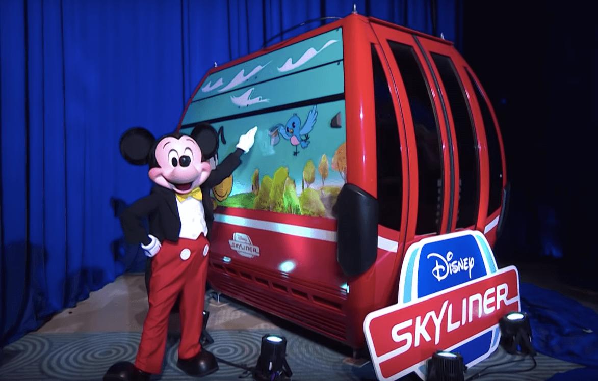 Disney Skyliner: o novo meio de transporte da Disney Orlando: cabine