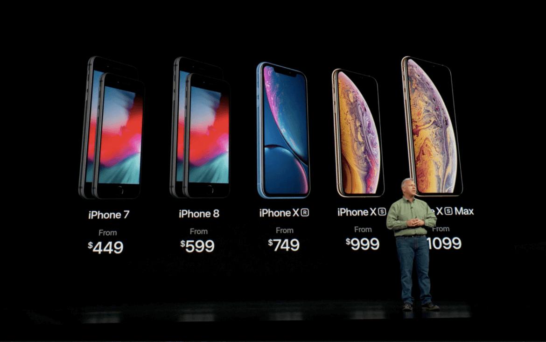 Onde comprar iPhone XS, XS Max e XR em Orlando: modelos
