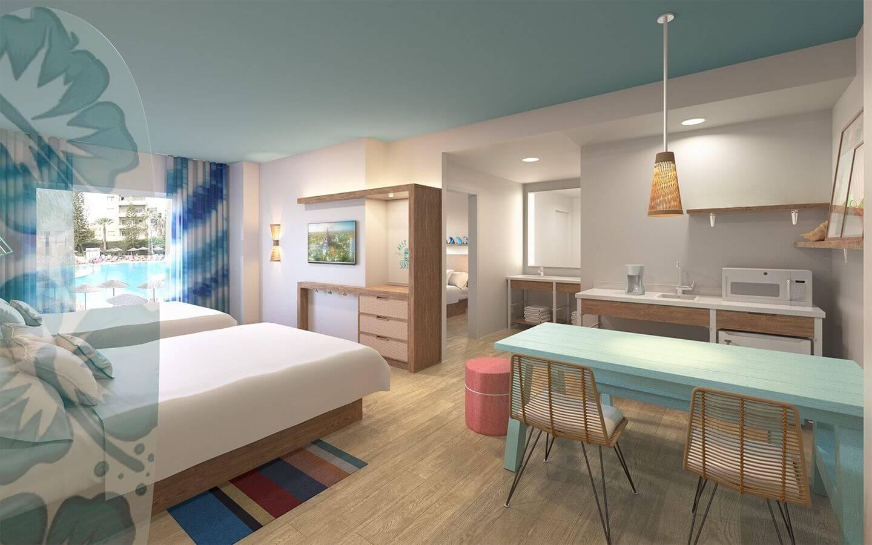 Universal's Endless Summer Resort em Orlando: acomodações