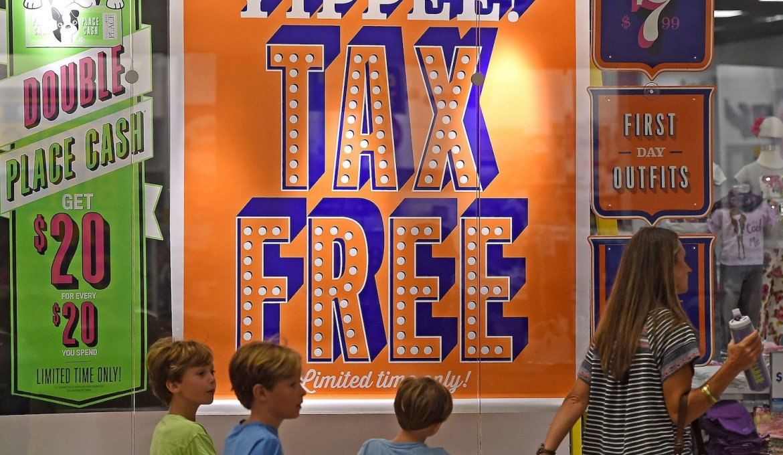 Tax Free Weekend em Orlando