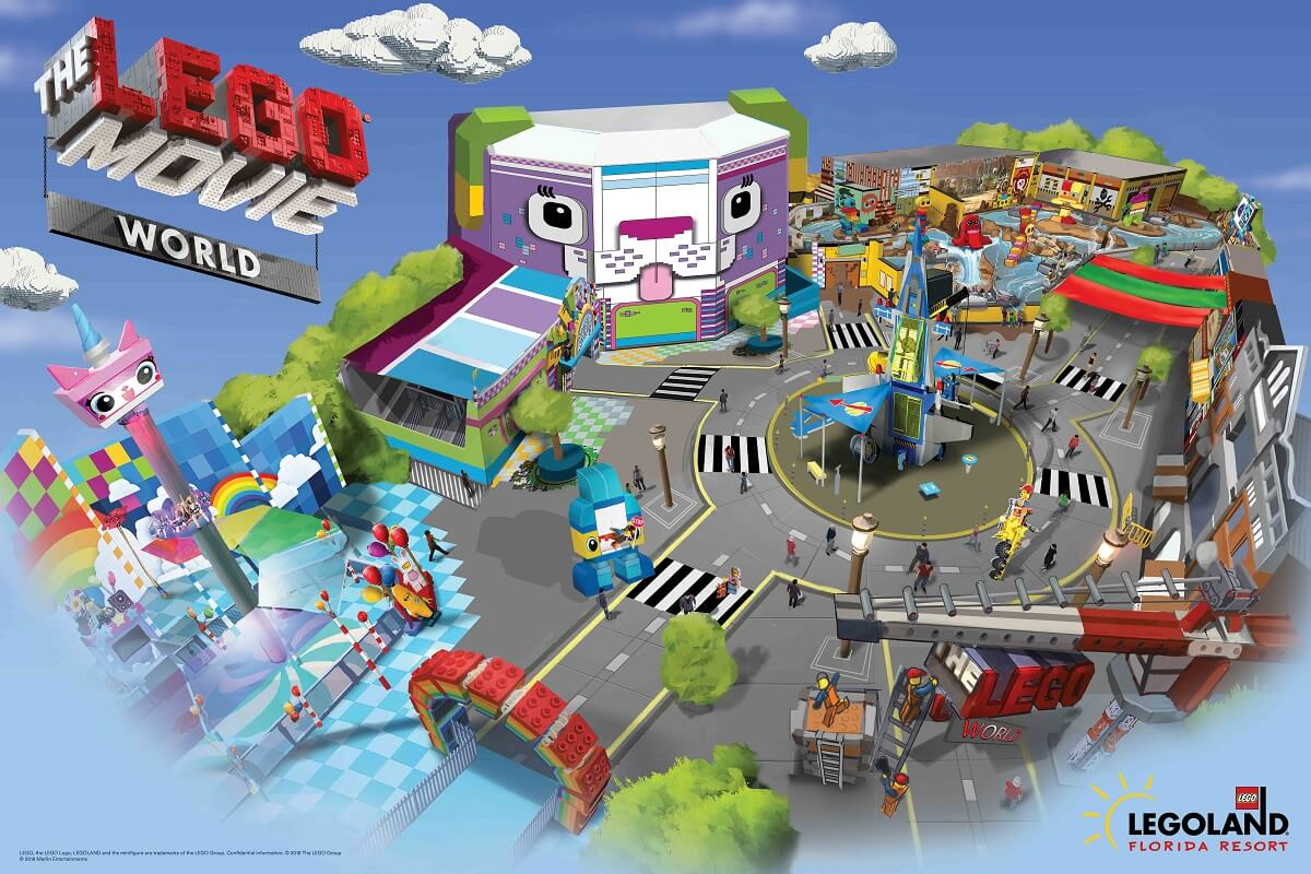 Novidades em Orlando em 2019: The Lego Movie World na LEGOLAND Florida