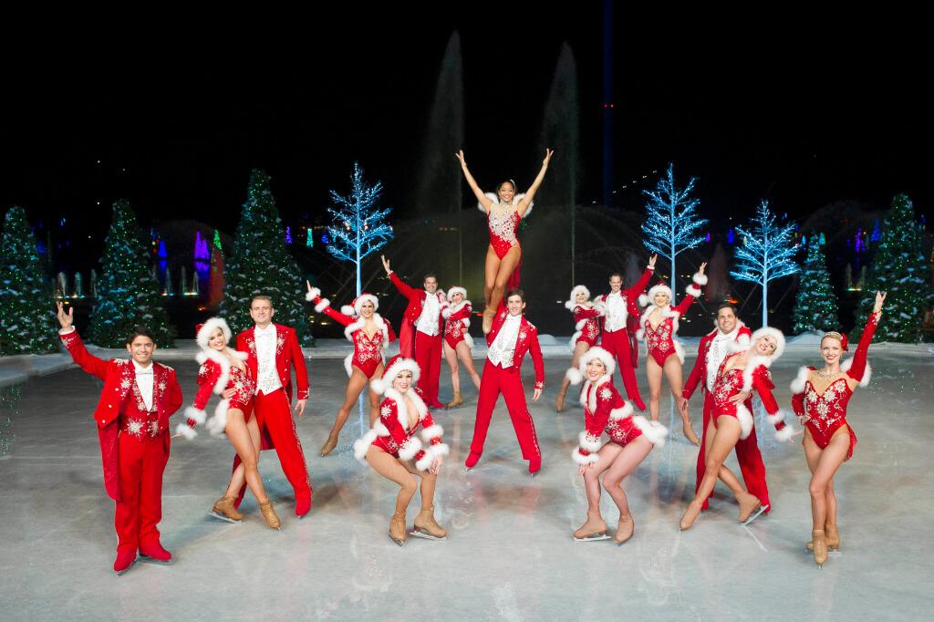 Christmas Celebration no SeaWorld Orlando: Winter Wonderland on Ice