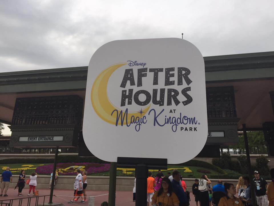 Disney After Hours em Orlando: Disney After Hours no Magic Kingdom