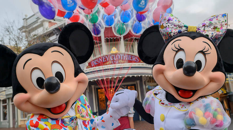 Mickey & Minnie's Surprise Celebration no Magic Kingdom da Disney Orlando