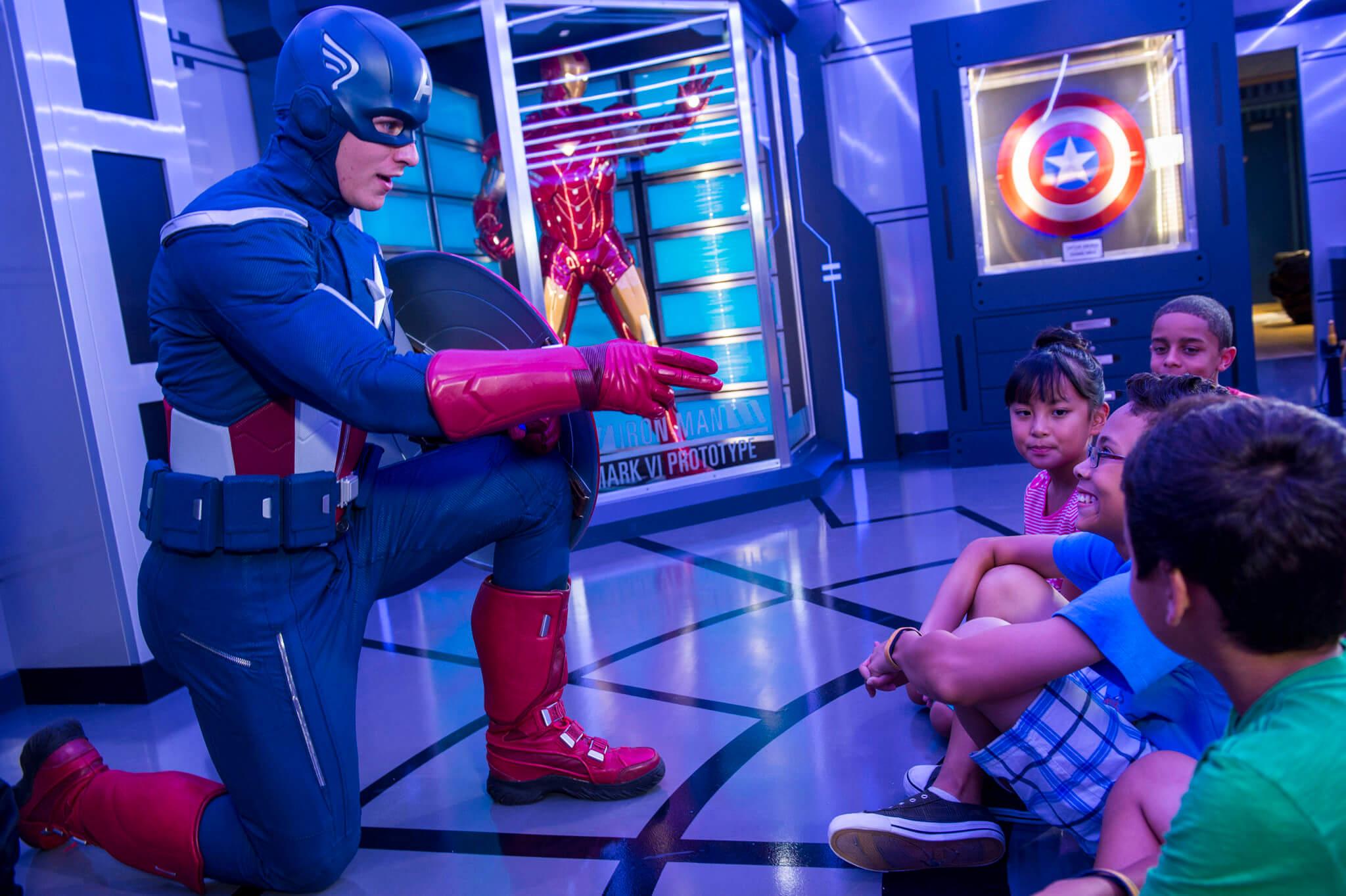 Cruzeiros temáticos da Disney Cruise Line em 2020: Capitão América