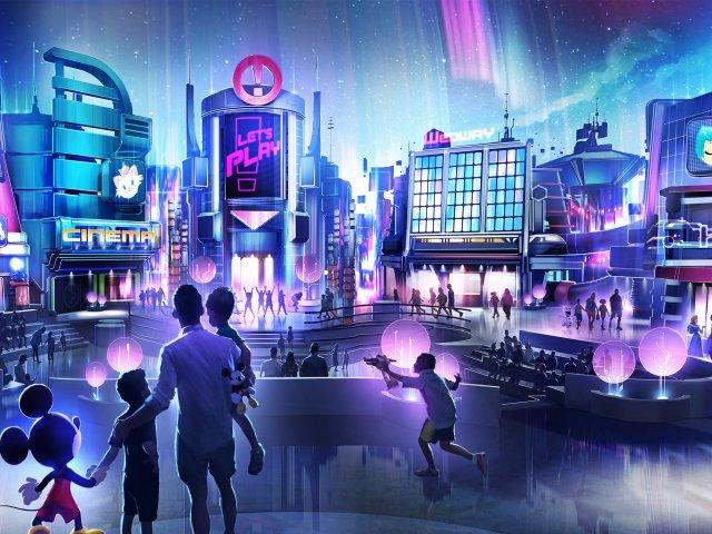 Novo pavilhão de jogos no Epcot da Disney Orlando