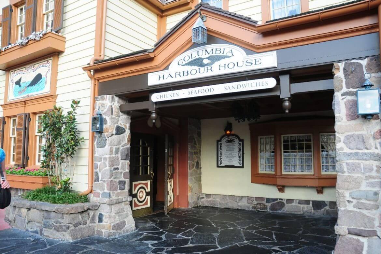 Como pedir comida pelo celular nos restaurantes da Disney Orlando: restaurante Columbia Harbour House
