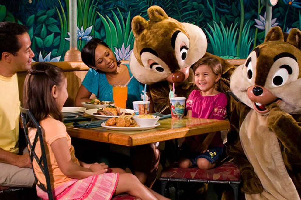 Onde comer com crianças na Disney e Orlando