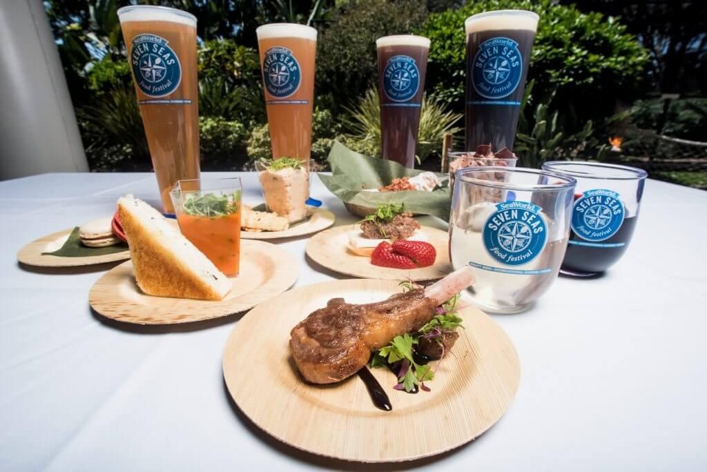 Festival Seven Seas Food no SeaWorld Orlando em 2019: culinária