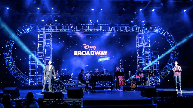 Epcot International Festival of the Arts 2019 na Disney Orlando: Disney on Broadway