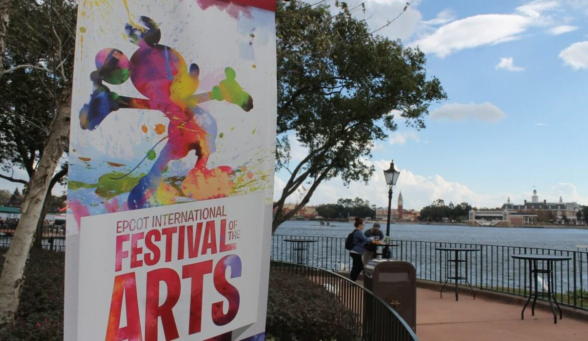 Epcot International Festival of the Arts 2019 na Disney Orlando