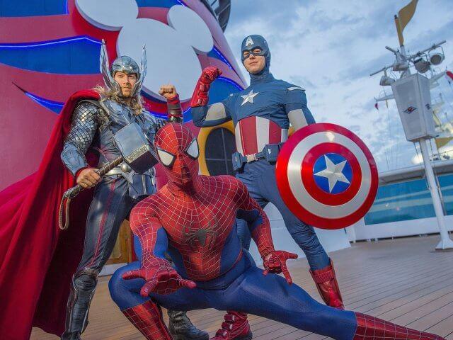 Cruzeiros temáticos da Disney Cruise Line em 2020