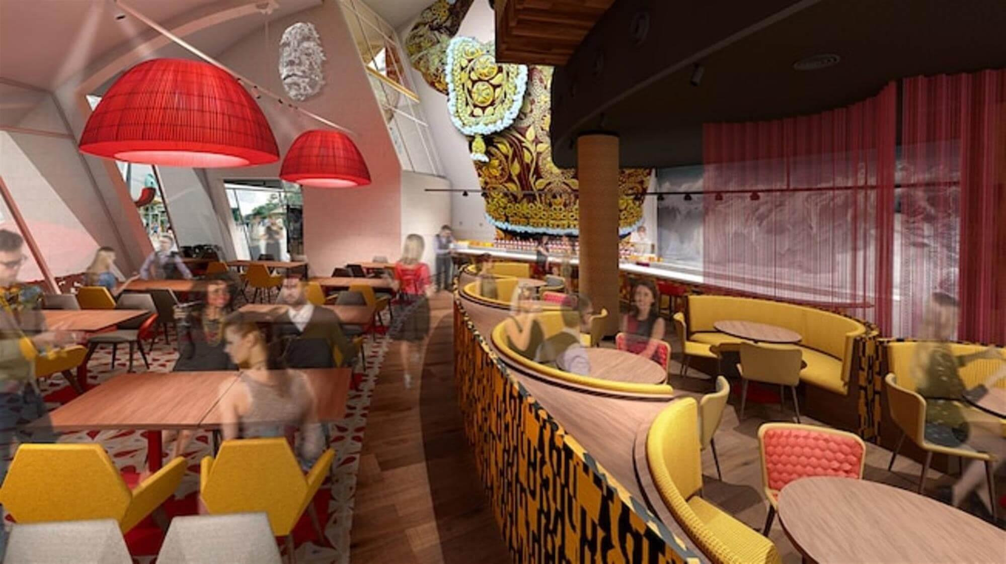 Restaurante Jaleo by José Andrés na Disney Springs Orlando: interior