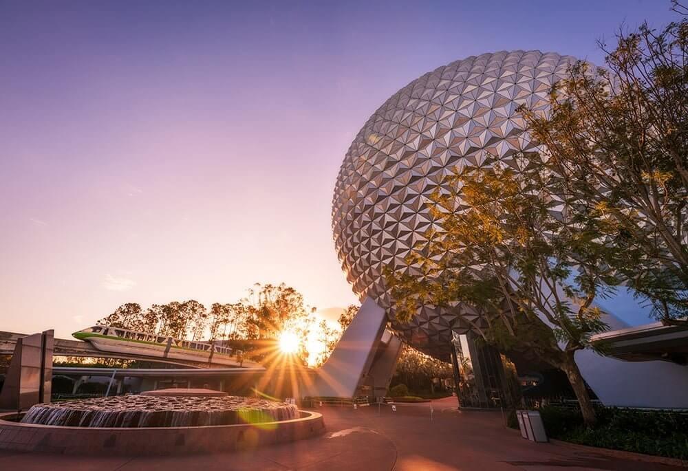 Creperia no Epcot da Disney Orlando: parque Epcot